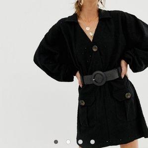 ASOS Dresses - ASOS broderie shirt dress with woven belt